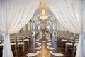 The Biltmore Ballrooms neutral wedding ceremony decorations