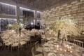 modern ivory silver reception concept decor park hyatt new york city hotel wedding ballroom gray