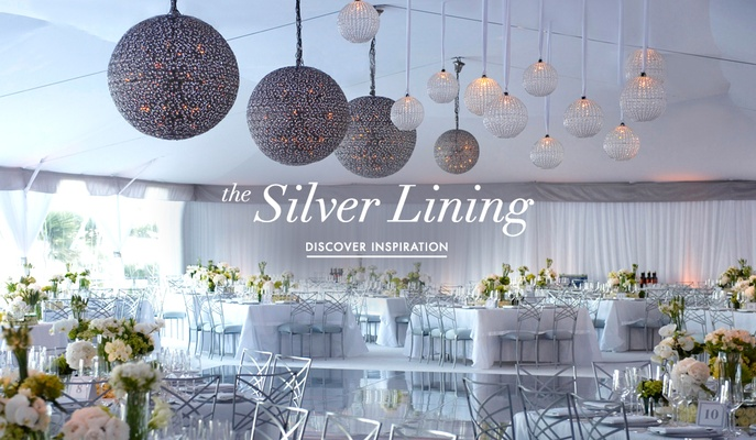 Silver wedding ideas 12 ways to use silver in your dcor inside silver wedding decoration ideas for your ceremony and reception junglespirit Choice Image