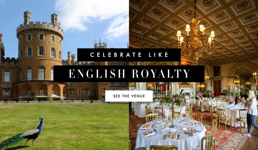 England Wedding Venue Belvoir Castle
