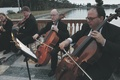Wedding string quartet at the John and Mabel Ringling Museum of Art