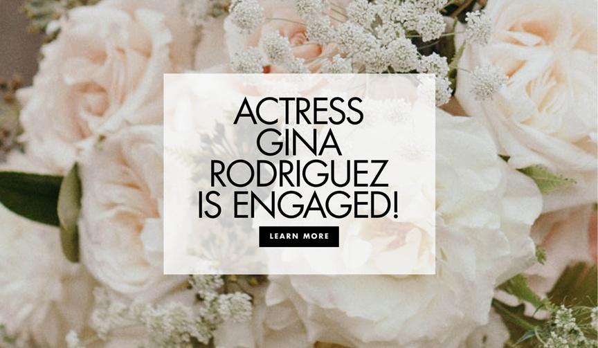Jane the Virgin actress Gina Rodriguez and Joe LoCicero may be engaged