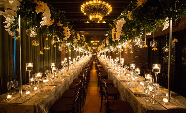 Traditional Jewish Ceremony + Romantic Yellow Reception In