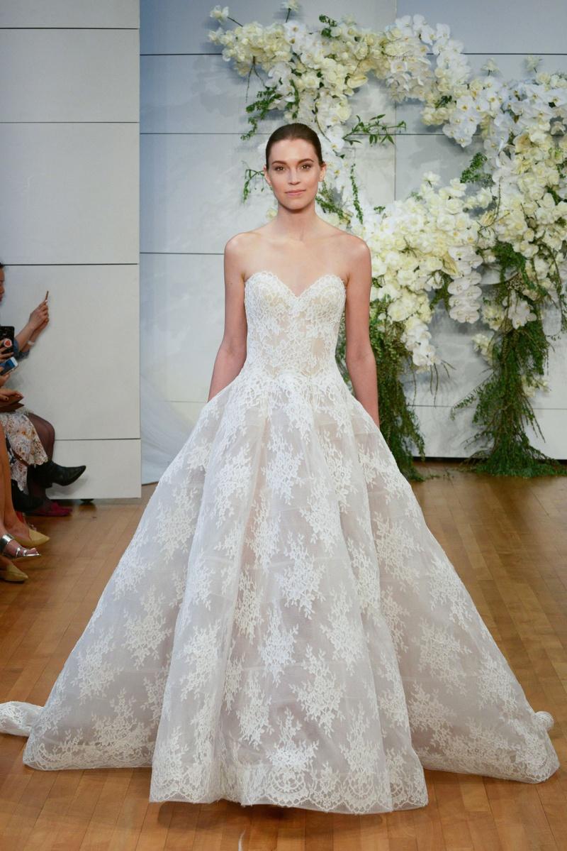 Wedding Dresses: Monique Lhuillier Spring 2018 Bridal Gowns - Inside ...