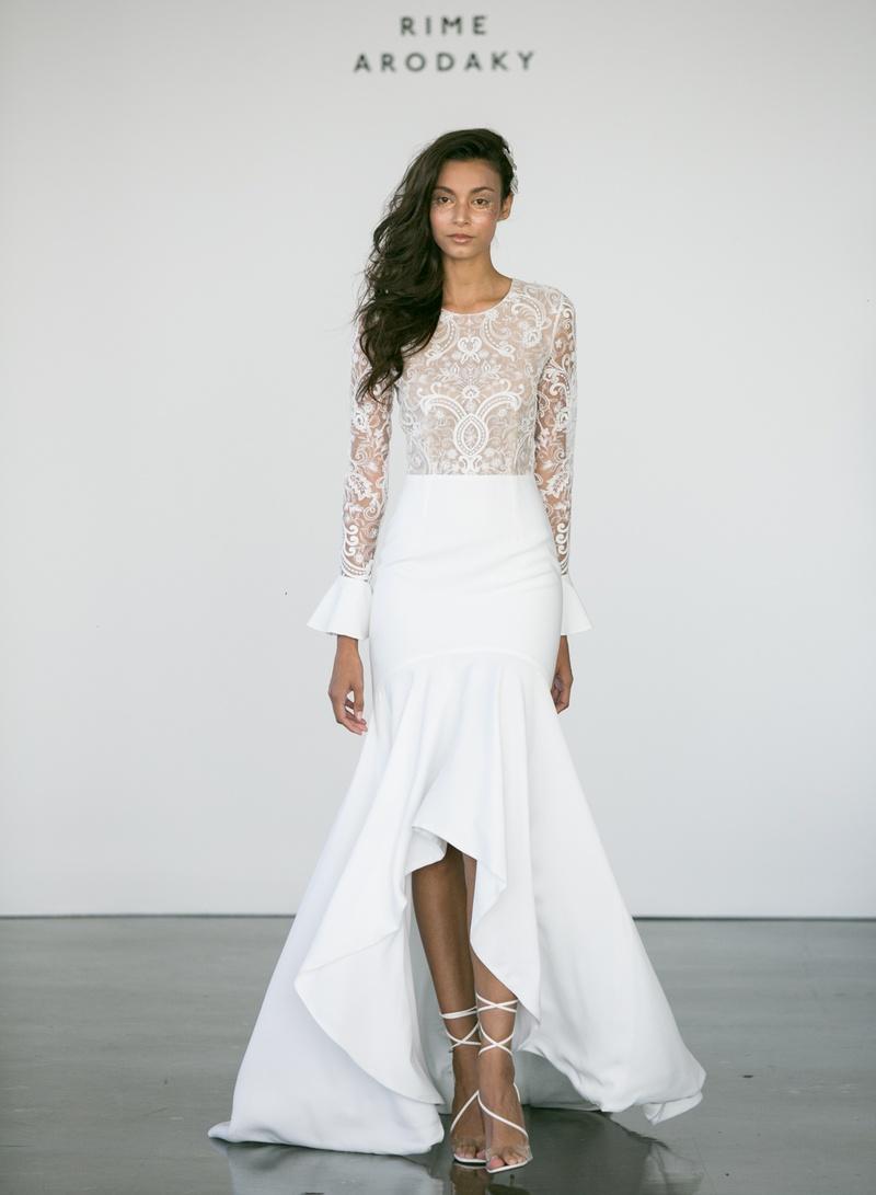Bridal Week Modern Wedding Dresses From Rime Arodacky Fall 2017