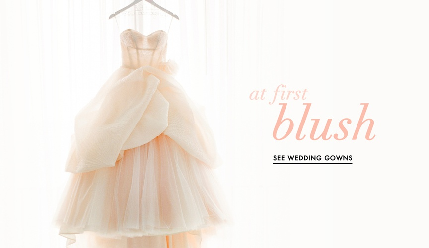 Blush Wedding dress ideas for your big day