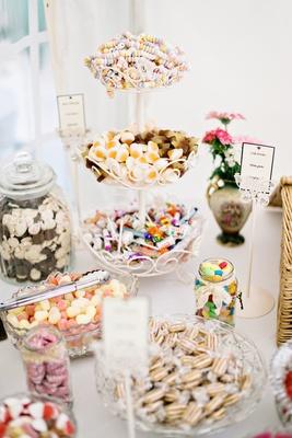 candy dessert table english british wedding reception DIY england UK