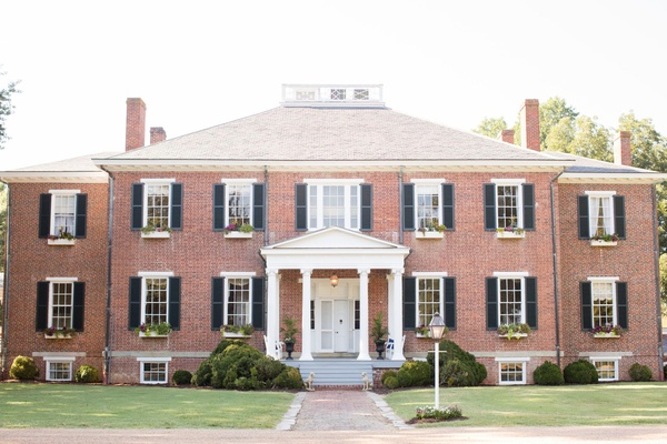 Plantation in virginia groom owns family home wedding ceremony venue bridal suite outdoor ceremony