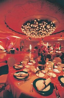 Crystal Ballroom reception at Beverly Hills Hotel