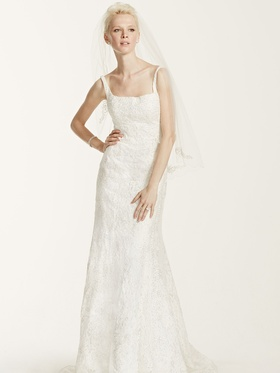 Oleg Cassini at David's Bridal CWG669 wedding dress