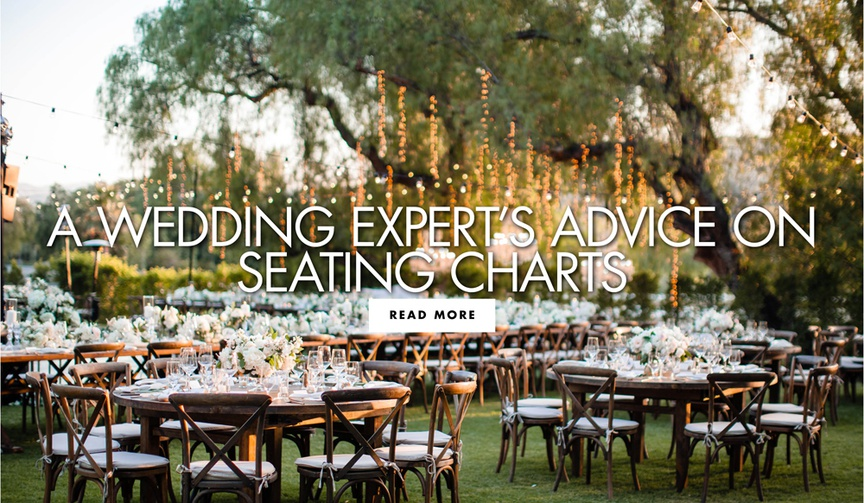 Read expert tips from Tessa Lyn Events about creating a seating chart
