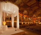New York City winter ceremony with white chuppah