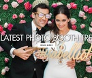 The latest photo booth trends for wedding receptions gif booths and more