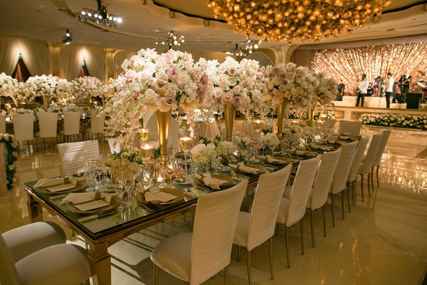 Outdoor Jewish Wedding Ceremony Glam Reception In