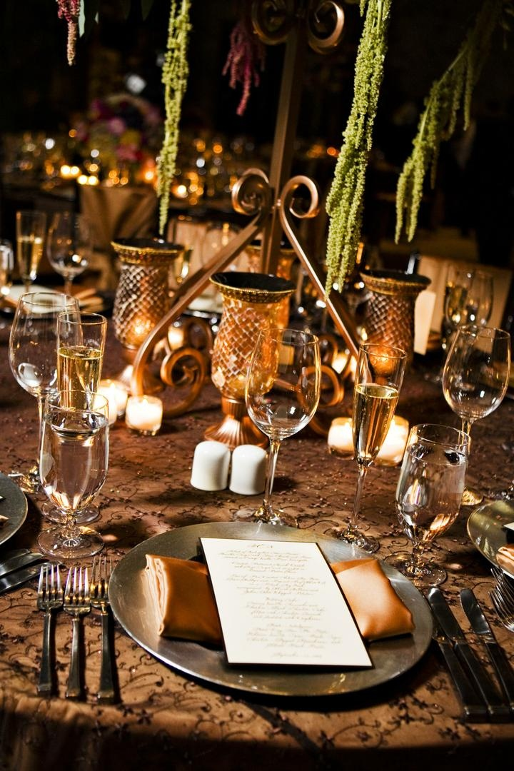 Reception Dcor Photos Tuscan Inspired Tablescape Inside Weddings