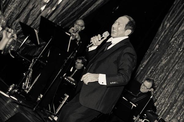 Paul Anka legendary singer performing at wedding reception Grand Del Mar
