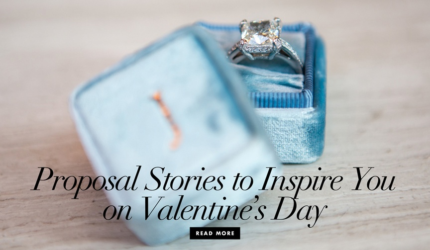 7 brides share proposal stories valentine's day holiday love romance advice real couples