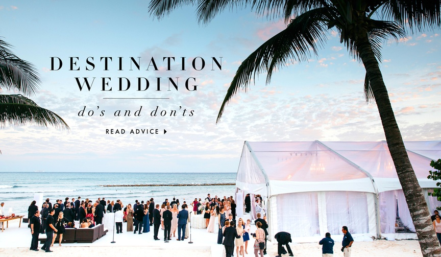 DFW Events destination wedding advice