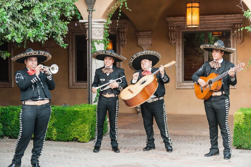 Cocktail Hour Mariachi Band Music 0 Favorites Repins Wedding Reception Four Person Guitars Sombreros And Trumpet At Outdoor
