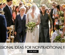 Processional ideas and orders for nontraditional families modern family