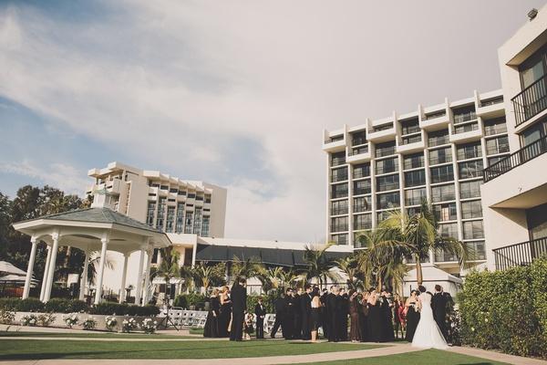 Newport Beach Marriott Hotel & Spa gazebo