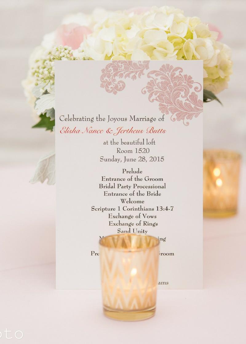 Elegant Chic Blush Wedding
