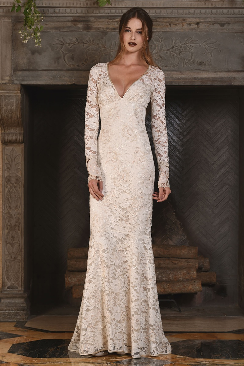 Wedding Dresses Photos Amber Gown By Claire Pettibone Inside