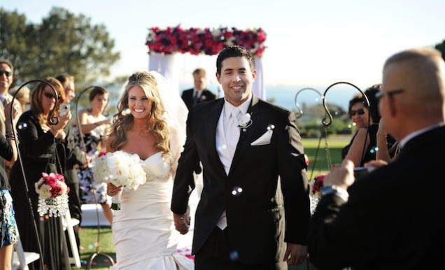 Stylish winter wedding in dana point california inside for Winter weddings in california