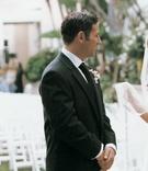 Newlyweds portrait at Four Seasons Hotel
