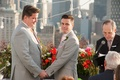 Same-sex couple on New York City loft