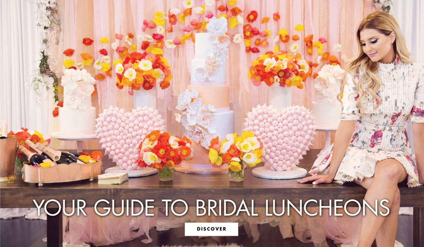 who hosts a bridal luncheon, what is a bridal luncheon