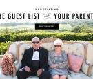 Negotiating the guest list with your parents and family