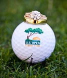 Torrey Pines U.S. Open 2008 golf ball and jewelry