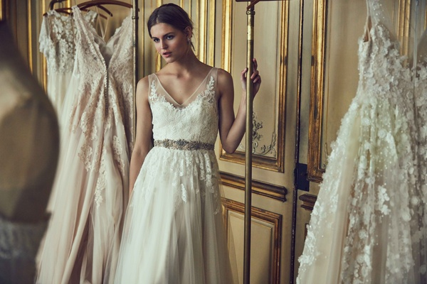 Beige Lace Bhldn Wedding Dress Or Bridesmaid Gown: Wedding Dresses: BHLDN Spring 2016 Bridal Collection