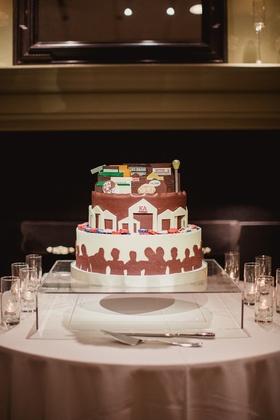 texas a&m kappa alpha frat house as groom's cake