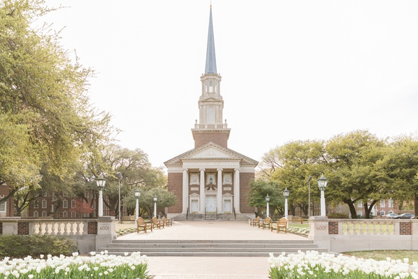 SMU perkins chapel wedding ceremony location