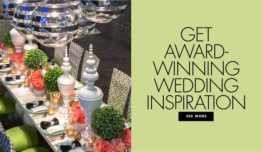 get award winning wedding inspiration from the wedding guys unveiled bridal show event