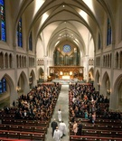 St. Martin's Episcopal Church wedding in Houston