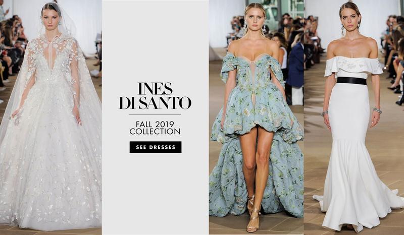 Ines Di Santo fall 2019 bridal collection wedding dresses, bridal fashion week