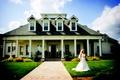 Bride at a private home in Homer, Georgia