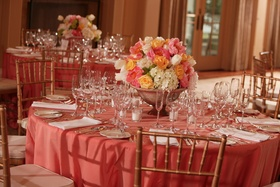 South Carolina ballroom tablescape
