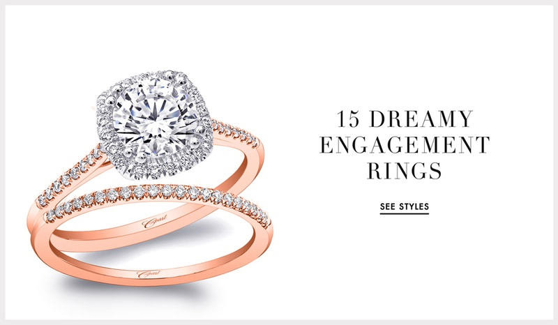 See 15 diamond engagement rings in time for engagement season