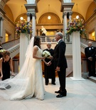 Art Institute Chicago grand staircase ceremony