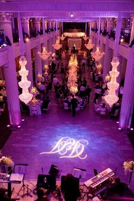 Purple wedding at The Corinthian venue in Houston