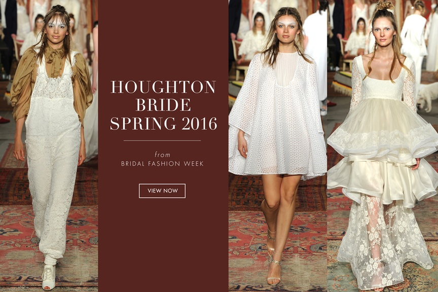 Wedding dresses from the Houghton Bride spring 2016 collection