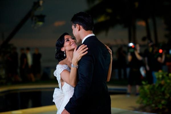 Courtney Mazza and Mario Lopez in Mexico