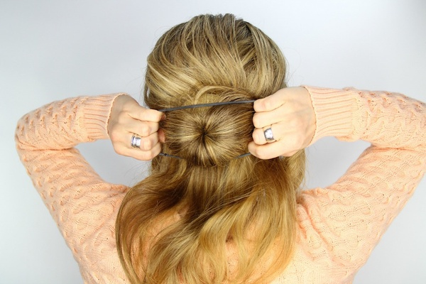 Excellent Wedding Day Hairstyles Fishtail Braid Wrapped Bun Tutorial Short Hairstyles For Black Women Fulllsitofus