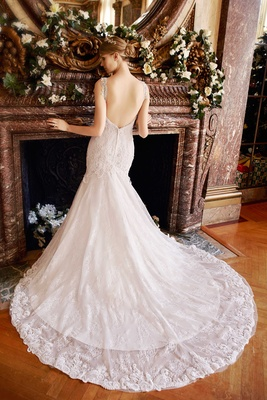 Wedding Dresses: 22 Bridal Gowns with Low, Lace & Illusion Backs ...
