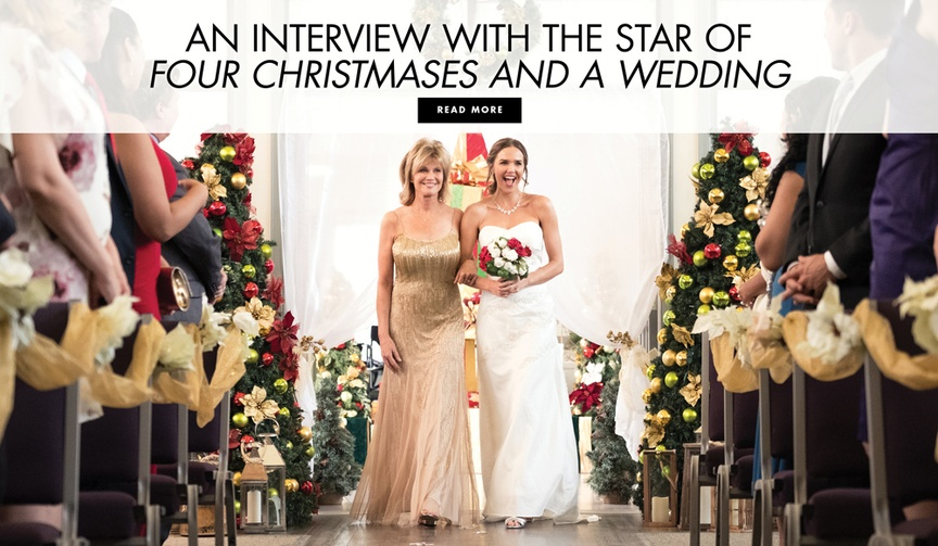 Interview with Arielle Kebbel of Lifetime's Four Christmases and a Wedding movie
