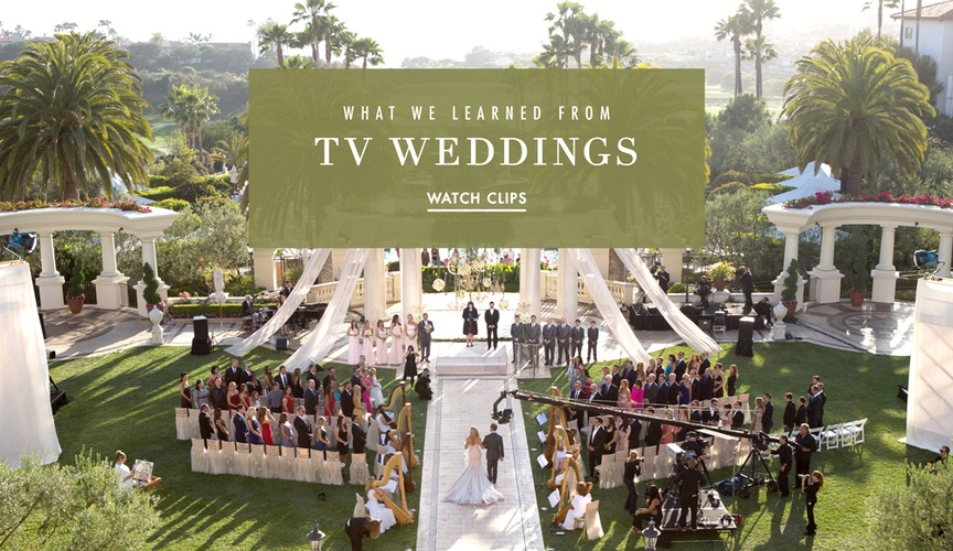 Television wedding clips and tips
